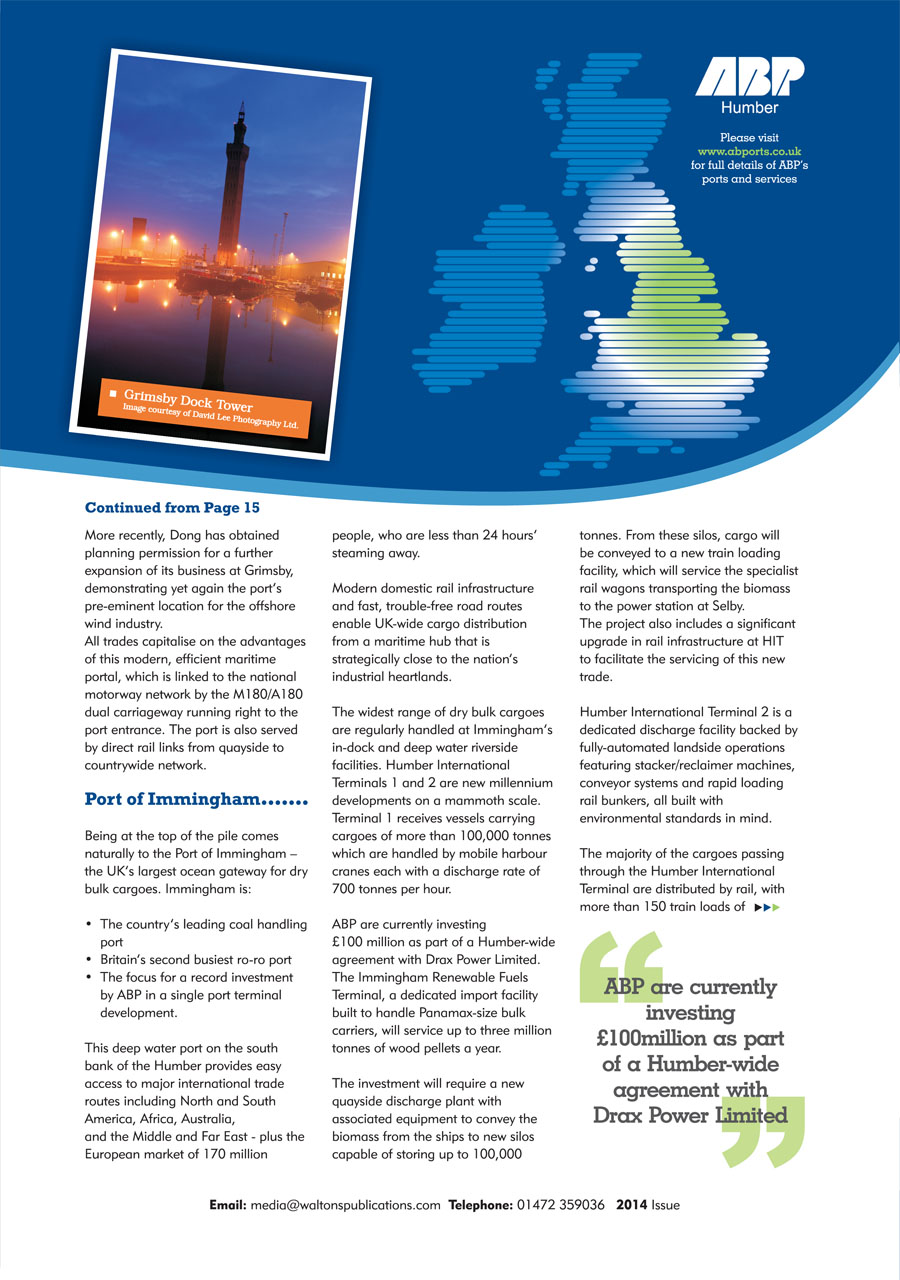North East Lincolnshire County Guide 2014 page 17