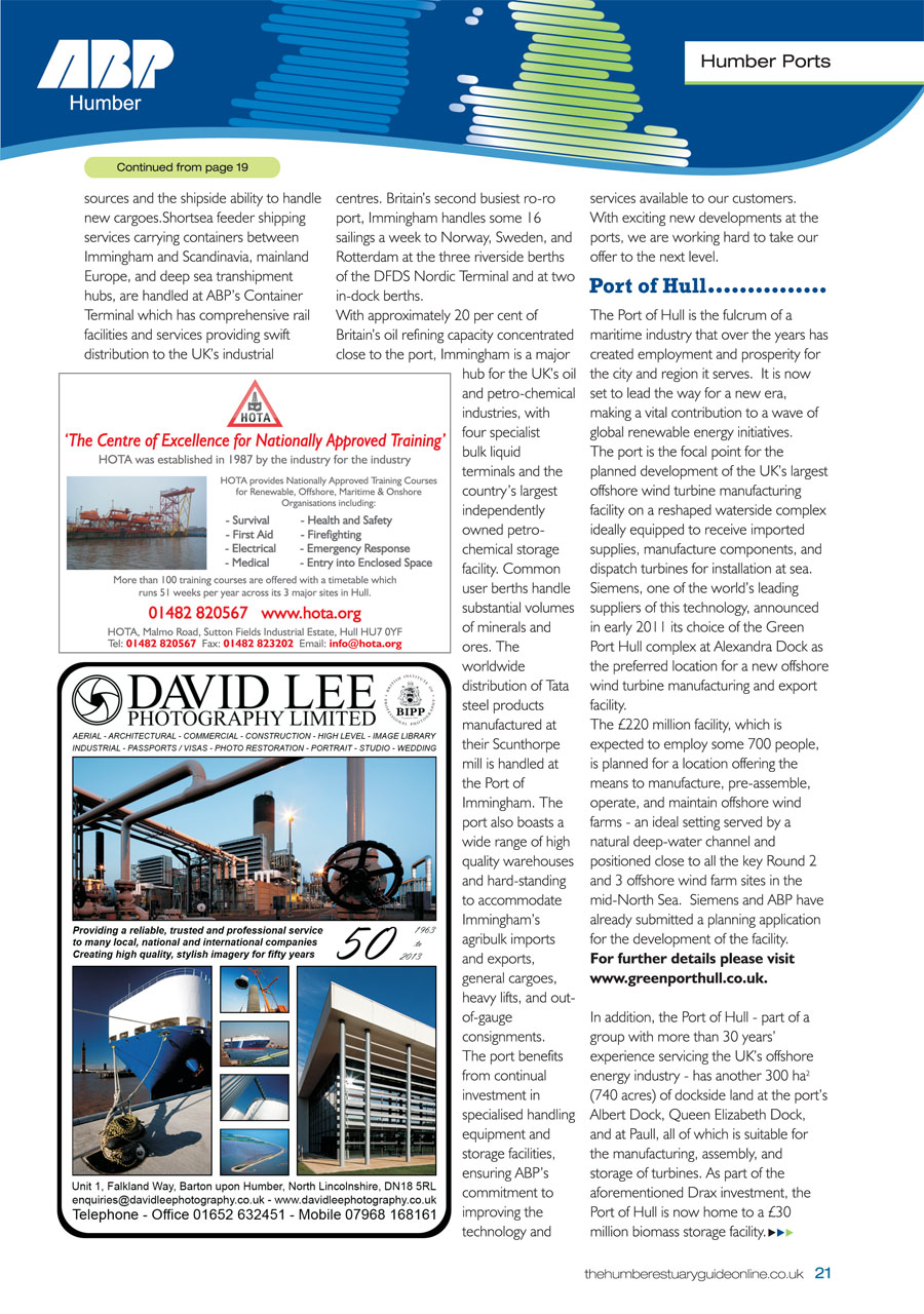 Humber Estuary 2014 Guide page 21