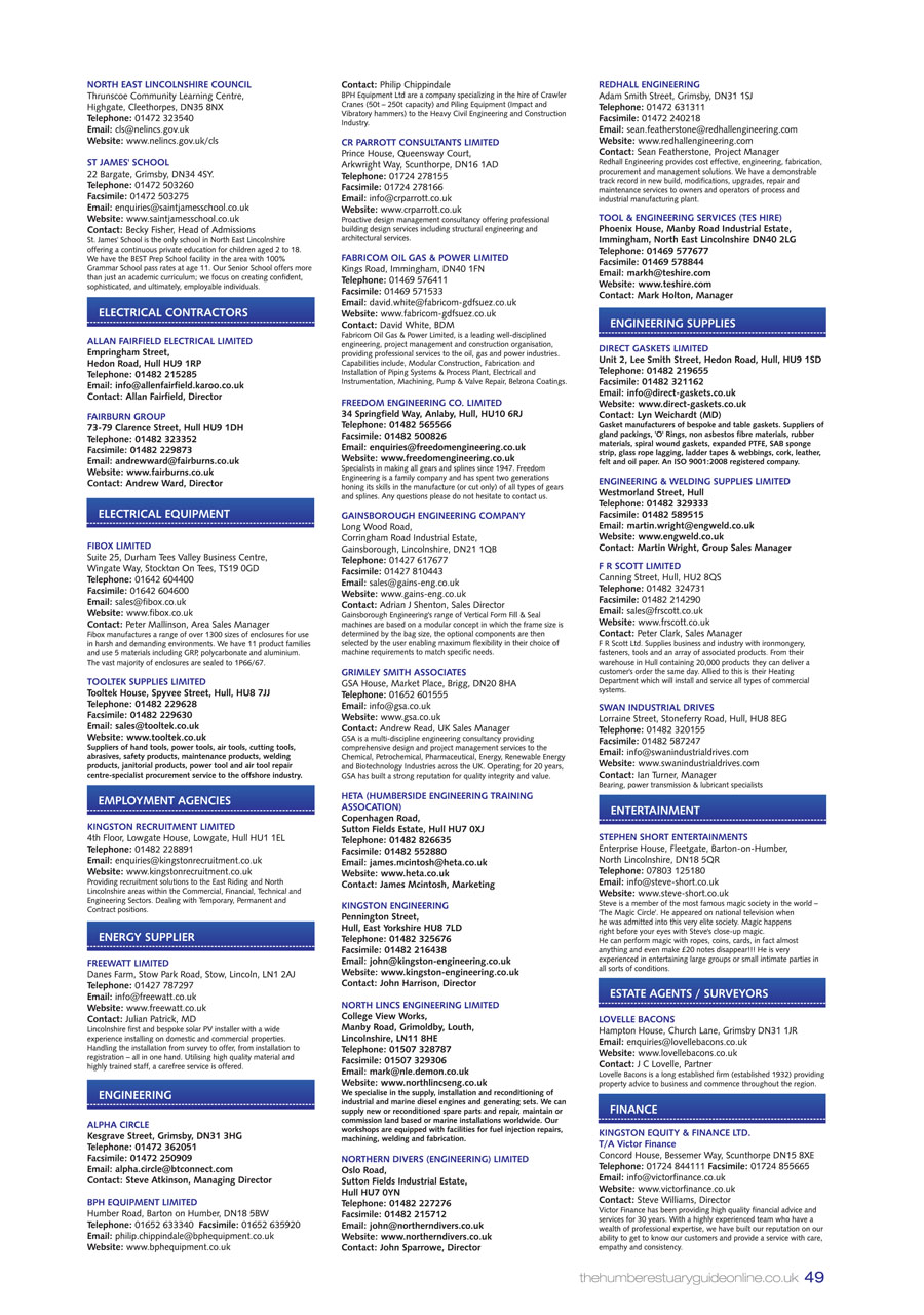 Humber Estuary 2014 Guide page 49