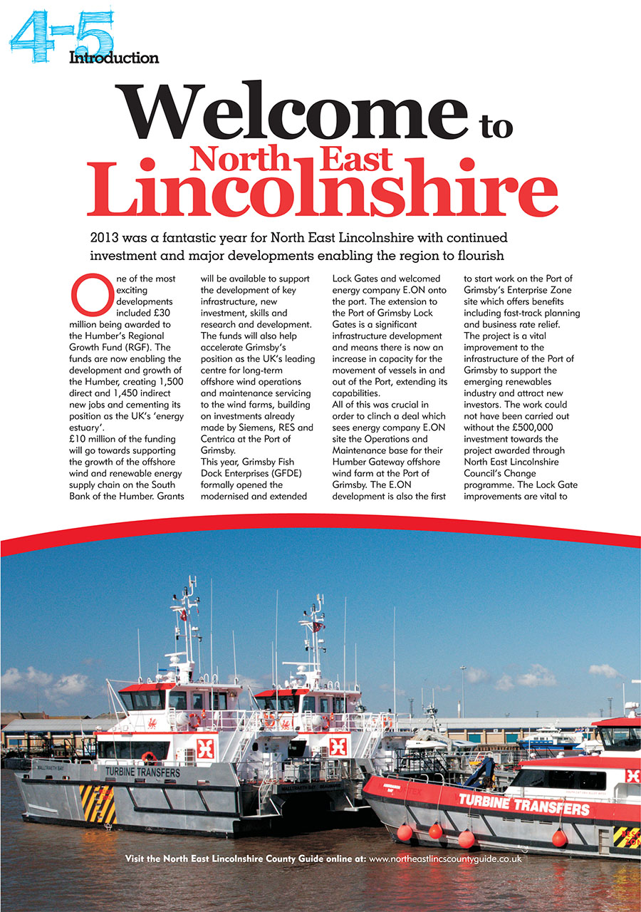 North East Lincolnshire County Guide 2014 page 4