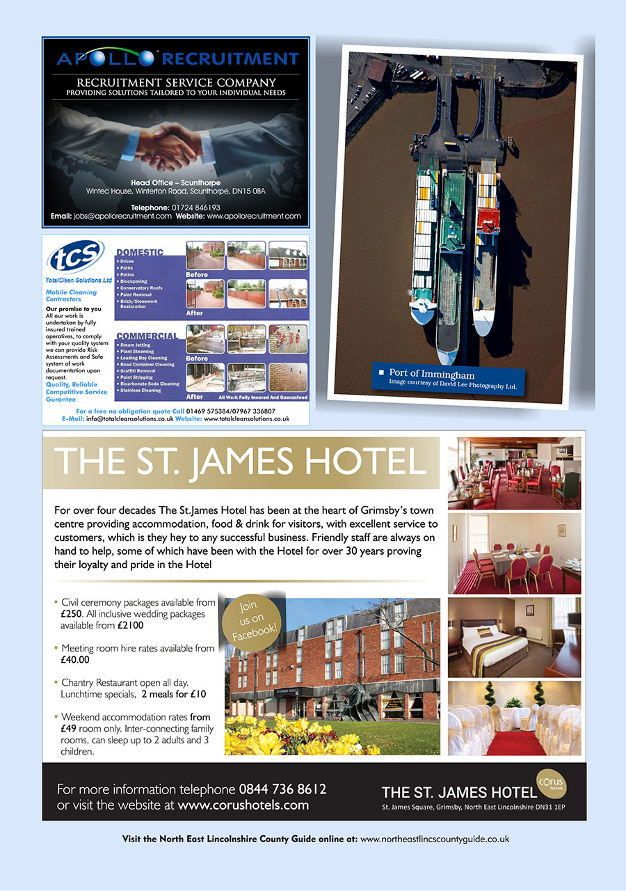 North East Lincolnshire County Guide September 2014 page 20