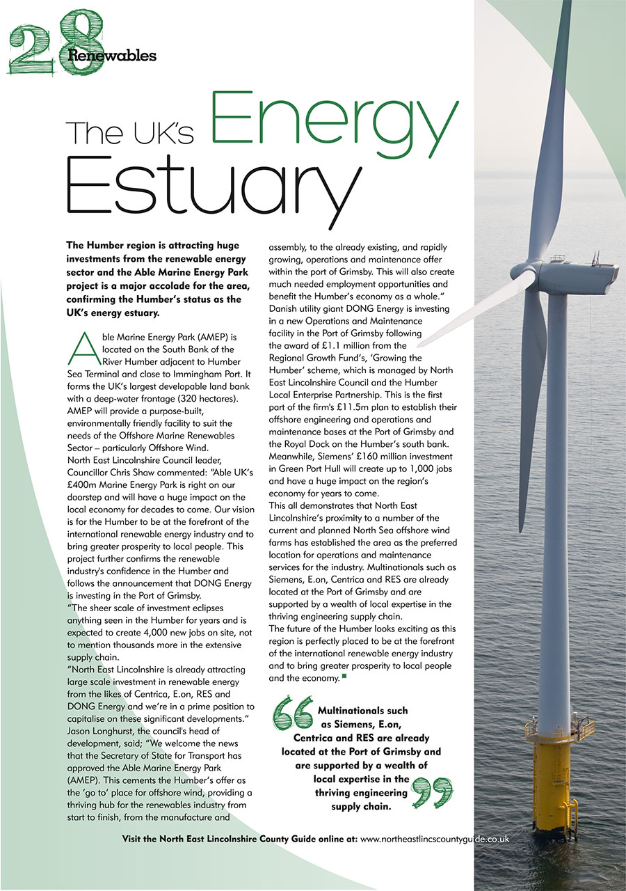 North East Lincolnshire County Guide September 2014 page 28