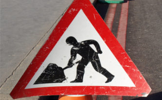 road works and highway repairs placeholder