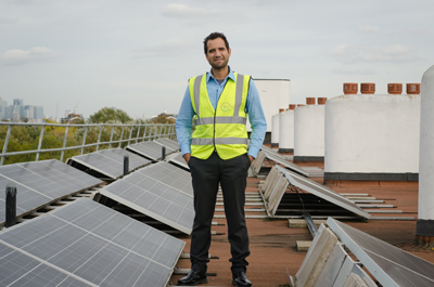 "Agamemnon Otero MBE, CEO of Repowering London said: ""Our energy project in Brixton was one of the first schemes to take part on the platform and we're really excited to see where it goes next."