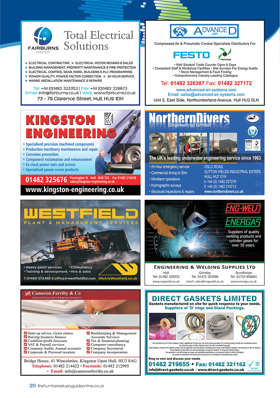 Humber Estuary 2014 Guide page 20