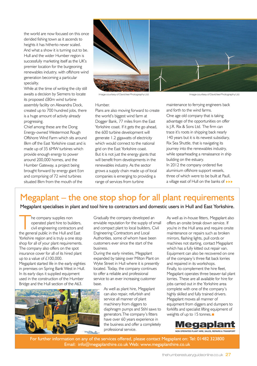 Humber Estuary 2014 Guide page 27