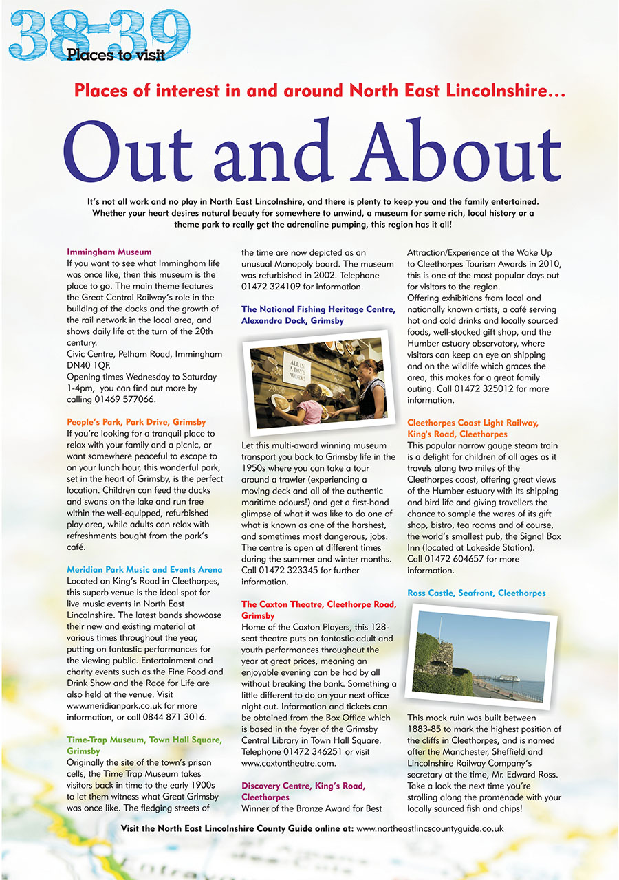 North East Lincolnshire County Guide 2014 page 38