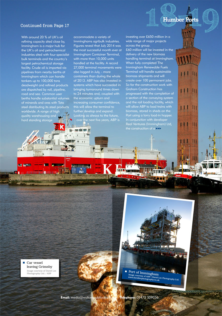 North East Lincolnshire County Guide September 2014 page 19