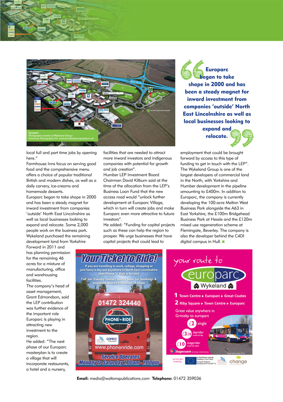 North East Lincolnshire County Guide September 2014 page 31