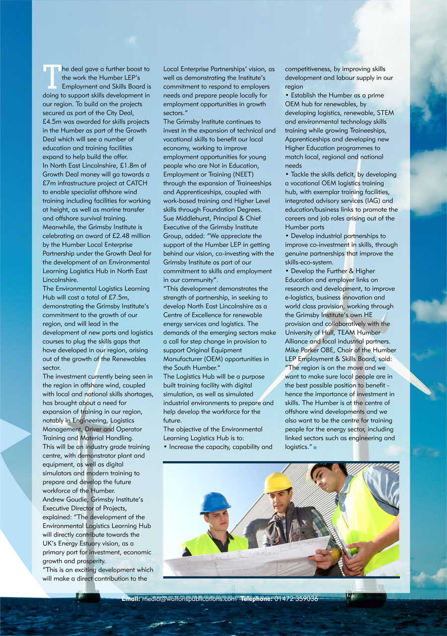 North East Lincolnshire County Guide September 2014 page 35