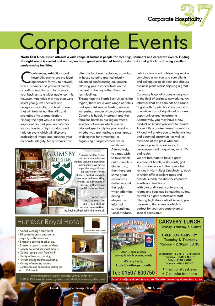 North East Lincolnshire County Guide September 2014 page 37