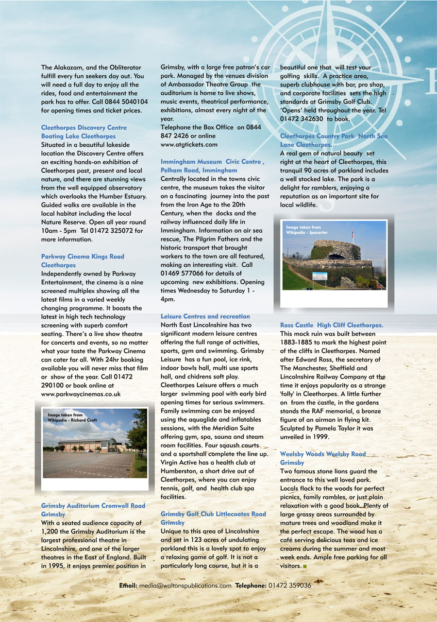 North East Lincolnshire County Guide September 2014 page 39